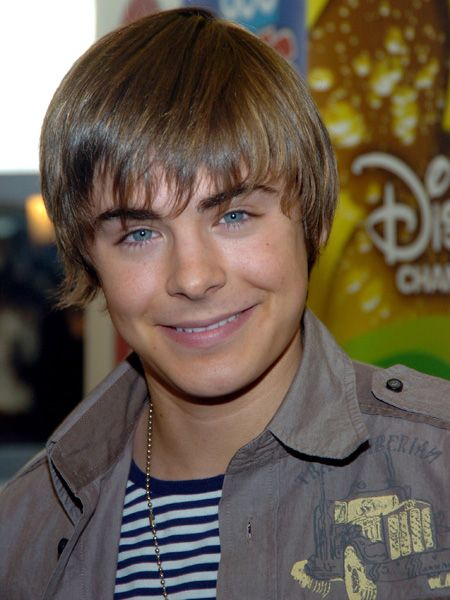 What a cutie! Zac's boyish good looks seem to have worked a treat with Disney and he was cast as basketball captain, Troy Bolton for the original High School Musical film. If only boys like him existed when we were in high school…