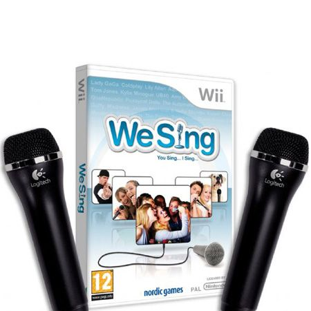 Or if you'd rather to save your singing (and blushes) for the privacy of your own home, try the new We Sing karaoke game for the Wii. With top tracks from the Sugababes and Kylie, songs from Brit icons Lily Allen and Amy Winehouse, plus Coldplay and UB40, there's a song to suit everyone.