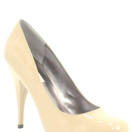 """Flesh hued heels will give the illusion of bare legs going on forever. These beige court shoes fit the bill. <br /><br />£69 reduced from £115, Steve Madden at <a target=""""_blank"""" href=""""http://www.asos.com/countryid/1/Steve-Madden/Steve-Madden-Trinite-Concealed-Platform-Heeled-Court-Shoes/Prod/pgeproduct.aspx?iid=723789&MID=35718&affid=2134&siteID=0RpXOIXA500-Gm7q_wPUgYtFHu5dx82k6g"""">www.asos.com</a><br />"""