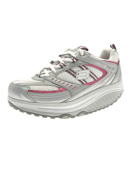 "Could there really be a way to combine exercise with shopping? Apparently so! Sketchers Shape Ups, £67.15, are footwear that forces you to workout while you walk. Their rocking bottom rivals Beyonce's with a curved sole that challenges your muscles to keep you balanced, toning your legs and bum, plus you'll burn calories and improve your posture too. They may look a little clunky, but team with leggings and an oversized tee for some sportswear chic. <a target=""_blank"" href=""http://www.lovethoseshoes.com/cart/prod.asp?ProdID=3562"">www.lovethoseshoes.com</a>"