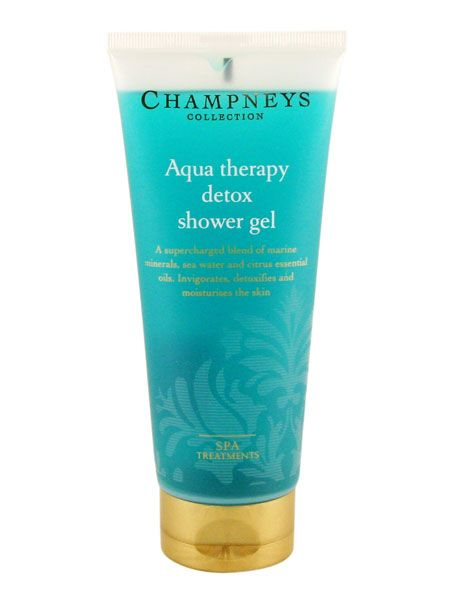 "<p>Start the day as you mean to go on with an invigorating shower gel. This one from Champneys is supercharged with a blend of marine minerals, sea water and essential oils which stimulate skin, detoxifying in its wake</p>  <p>Champneys Aqua Therapy Detox Shower Gel, now £3 at <a target=""_blank"" href=""http://www.champneys.com/Collection/Bath_and_Body/Aqua_Therapy/Aqua_Therapy_Detox_Shower_Gel"">www.champneys.com</a></p>"