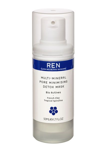 "<p>Partying can leave our skin's natural barrier weak and dry as well as pores blocked. This luxe mask draws out impurities and encourages cell renewal leaving you with a renewed, glowing complexion</p>  <p>REN Multi-Mineral Pore Minimising Detox Mask, £17.50, <a target=""_blank"" href=""http://www.renskincare.com/product-REN-Multi-Mineral-Pore-Minimising-Detox-Mask--All-skin-types--Combination-30911.htm"">www.renskincare.com</a></p>"