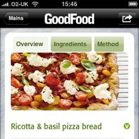 """Gadget girls, it's time to go gourmet, or at least give it a stab…. There's now a new recipe iPhone and iPod Touch application from BBC Worldwide. Crammed inside this digital cookbook is 120 healthy recipes ideas, including meals under 200 calories (to help with your healthy eating resolution), classic courses like chicken korma to make for your man and sweet treats like chocolate brownies for you. Get yours for £2.39 at <a target=""""_blank"""" href=""""http://ax.itunes.apple.com/WebObjects/MZStore.woa/wa/browserRedirect?url=itms%253A%252F%252Fax.search.itunes.apple.com%252FWebObjects%252FMZContentLink.woa%252Fwa%252Flink%253Fpath%253Dappstore"""">www.itunes.com/appstore</a>"""