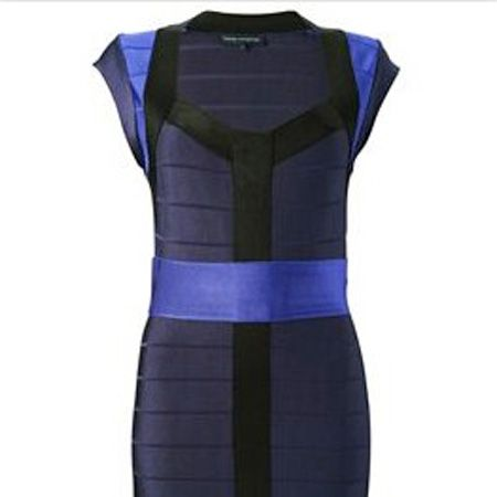 """Body con is still hot and this dress shows us why. Wowzers! <br /><br />£95, <a target=""""_blank"""" href=""""http://www.frenchconnection.com/product/womens+Dresses/71OO2/Ribbon+Dress.htm"""">www.frenchconnection.com</a><br />"""