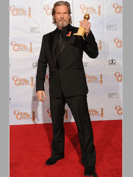 Jeff was named Best Performance by an Actor in a Motion Picture - Drama for <em>Crazy Heart</em>
