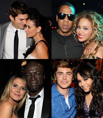 It's the month of romance and we're feeling the love and lusting after the love lives of the rich and famous. Click through to see the celebrity pairings who are our relationship inspiration…