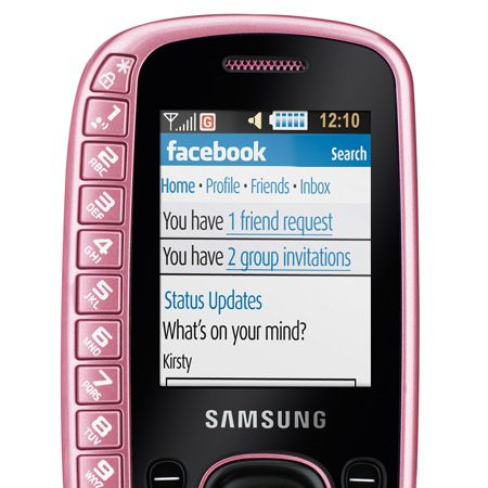 """<p>Make sure you're not the only thing pretty in pink this Valentines and add the Samsung B3310 in the hottest of hues, pink, (what else?)  to your wish list. It's got a special slide out keyboard, camera, FM radio and, most importantly, looks gorgeous</p><p>£44.95, on pay as you go, <a target=""""_blank"""" href=""""http://www.carphonewarehouse.com/mobiles/mobile-phones/SAMSUNG-B3310/PPAY"""">carphonewarehouse.com </a></p>"""