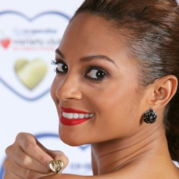 We don't just love Alesha Dixon for her wardrobe wonders, Strictly magic or ability to bounce back from a break up, we also love the singer because she's supporting The Variety Club's latest campaign. Alesha is the face of the Gold Heart appeal to encourage us to buy a heart pin that donates £1 of every sale to the charity dedicated to sick, disabled and disadvantaged children. Available from The Co-op, HS Samuels, Cineworld and Odeon cinemas nationwide