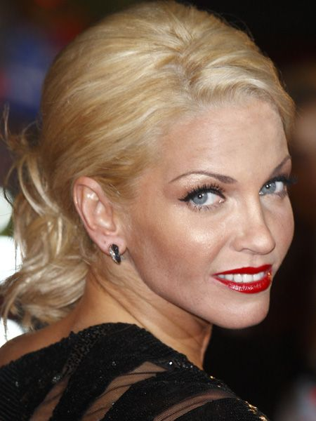 <p>Red lippy may be hard to wear but with the right complexion-complimenting tones and a bucket of confidence, these stars show it's worth the risk</p>    <p><em>Left:</em> Sarah Harding's cherry red lips inject her look with grown-up glam </p>