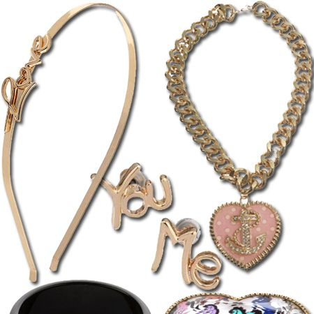 Love is in the air, wrapped around your wrist, adorning your neck and ears... Yep, who needs a man when you have jewellery this loveable?<br /><br />