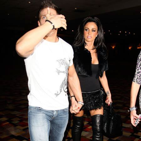 """<a href=""""tags/katie-price"""">Katie Price</a> and Alex Reid have caused quite a media storm with their shock wedding in a Las Vegas chapel four days ago. The newlyweds celebrated their nuptials with a trip to the world's largest strip club and last night they opted for a more low-key dinner at Japanese restaurant Koi."""