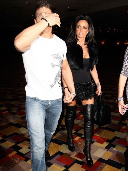 "<a href=""tags/katie-price"">Katie Price</a> and Alex Reid have caused quite a media storm with their shock wedding in a Las Vegas chapel four days ago. The newlyweds celebrated their nuptials with a trip to the world's largest strip club and last night they opted for a more low-key dinner at Japanese restaurant Koi."