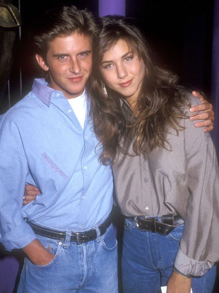 Yes, there was a love-life before Brad. Before <em>Friends</em> she dated her cute co-star Charlie Schlatter from Ferris Bueller – a TV series that flopped, and their relationship did too