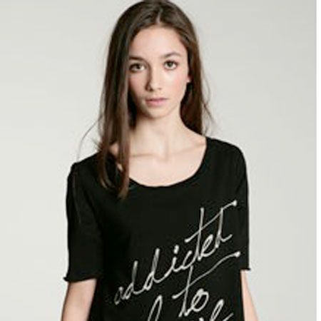 """<p>Wear your feelings with pride in this cool rock tee<br />£28, <a target=""""_blank"""" href=""""http://www.urbanoutfitters.co.uk/Truly-Madly-Deeply-Addicted-To-Love/invt/5111424664125&bklist=icat,5,shop,womens,womensclothing,wtees """">www.urbanoutfitters.co.uk</a><br /></p>"""