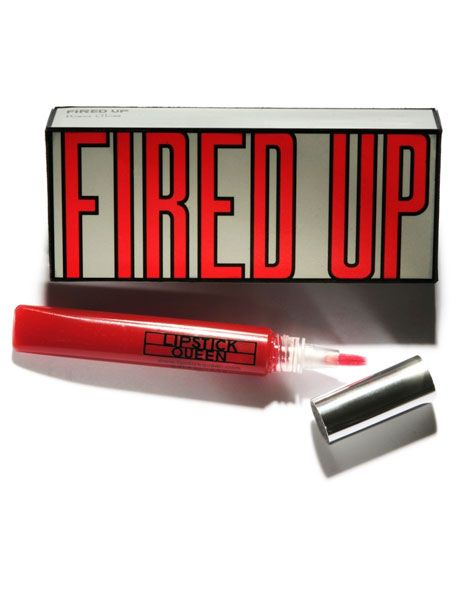 <p>If you love the idea of being a scarlet lady but aren't a lipstick lady this power gloss is for you. It's designed to enhance all skin tones and can be built up from subtle to statement</p>  <p>Lipstick Queen Fired Up Gloss, £15, available at Space NK</p>