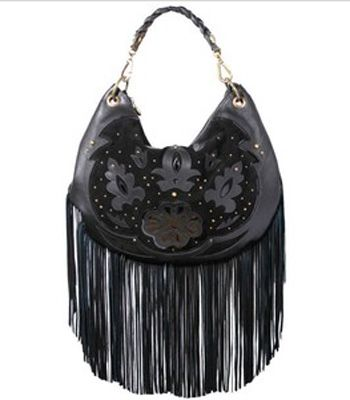 """Bargainistas beware, the savings we've discovered at <a target=""""_blank"""" href=""""http://www.koodos.com/"""">www.koodos.com</a> will please your purse beyond belief. At the online fashion store you can pick up premium pieces by designers from Balenciaga to Burberry. Everything is in limited stock so you'll have to snap them up super-fast. Our faves this week are this fringed bag from Mischa Barton, left, £65 (reduced from £125) and for a splurge the leather jacket by Belstaff, £499 (down from £1,000)."""