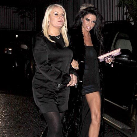Katie Price is over in LA to attend Elton John's annual Oscar bash. But of course, in place of Peter Andre, who accompanied the former glamour model last year, Price is taking new husband Alex Reid.