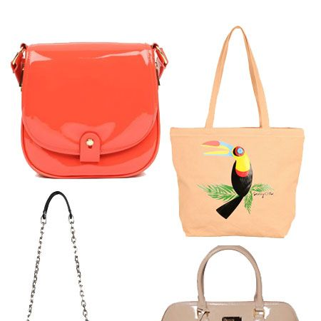 Celebrate spring by bagging yourself a new season style. Whether you're channelling the utility, tribal or new nude trends we've found some candy for every arm.