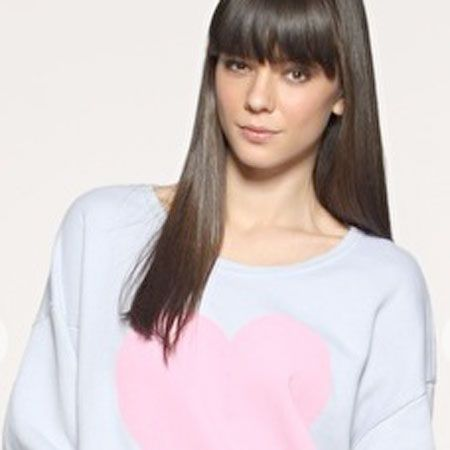 """Feel the love and keep extra snug in this lust-have Wildfox sweater<br /><br />Wildfox at Asos, £99,<a target=""""_blank"""" href=""""http://www.asos.com/Wild-Fox/Wildfox-Big-Heart-Sweatshirt/Prod/pgeproduct.aspx?iid=996975&cid=8058&sh=0&pge=0&pgesize=20&sort=-1&clr=Acid+Wash""""> www.asos.com</a><br /><br />"""