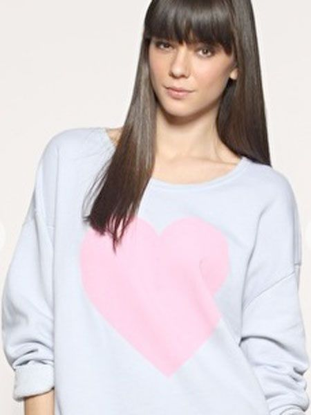 "Feel the love and keep extra snug in this lust-have Wildfox sweater<br /><br />Wildfox at Asos, £99,<a target=""_blank"" href=""http://www.asos.com/Wild-Fox/Wildfox-Big-Heart-Sweatshirt/Prod/pgeproduct.aspx?iid=996975&cid=8058&sh=0&pge=0&pgesize=20&sort=-1&clr=Acid+Wash""> www.asos.com</a><br /><br />"