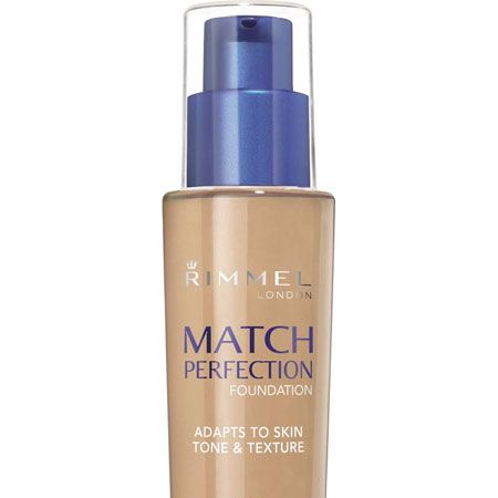 """<p>This foundation formula uses technology which mimics the skin's texture and adjusts to your natural skin tone whilst letting it breathe. A little goes a long way and it lasts for 16 hours! True perfection…</p><p>Rimmel Match Perfection, £8.99, currently £6.99 at <a target=""""_blank"""" href=""""http://www.boots.com/en/Rimmel-Match-Perfection-Foundation_1046411/"""">www.boots.com</a></p>"""