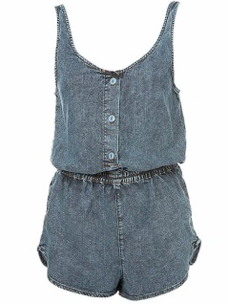 "Things don't get much cuter than this denim playsuit! Wear it now with a tee underneath and tights, or be spring ready with sandals!<br /><br />£35, <a target=""_blank"" href=""http://www.topshop.com/webapp/wcs/stores/servlet/ProductDisplay?beginIndex=0&viewAllFlag=&catalogId=19551&storeId=12556&categoryId=59925&parent_category_rn=42317&productId=1645524&langId=-1"">www.topshop.com</a><br />"