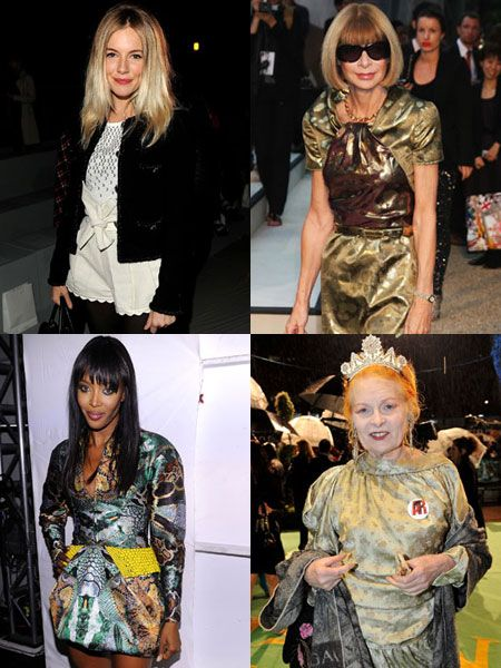 <h3>This season we're all about sporting glamour and are finding inspiration aplenty in the fashion industry. Through power dresses, killer heels or sassy attitude these well-clad women are glam to the bone. Watch and learn girls! </h3>