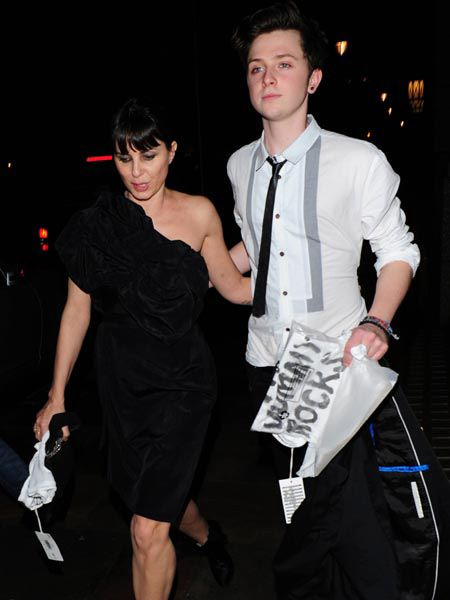 Sadie Frost was another mummy rocking it at the charity bash and she brought along her rather hot 19-year-old son from her first marriage to Gary Kemp, Finlay.