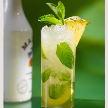 Ok, so it may not be summer yet but now the sunny season is upon us, what better way to see it in then with a tropical tipple? Malibu has created its own version of the classic mojito – with a pineapple twist. To make yours, squeeze two lime wedges into a hi ball glass and add six mint leaves, pour in 25ml white rum, 25ml Malibu and 50ml pineapple juice over crushed ice and top up with a splash of lemonade. Unfortunately though, a cute Caribbean guy isn't included.