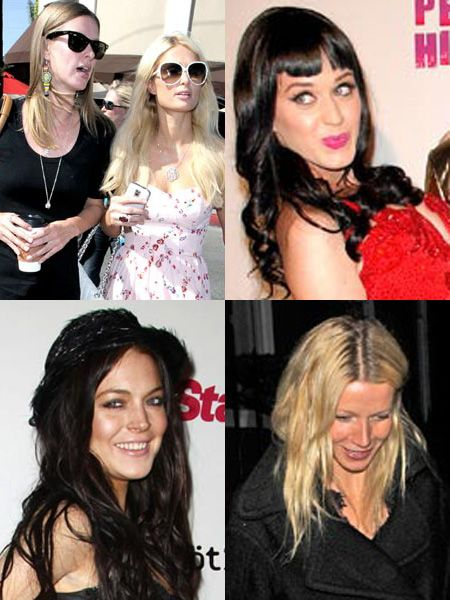 Click on to see the stars posing for the paps this weekend...<br />