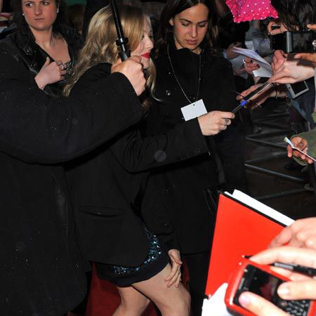 Amanda Seyfried has left us all in shock by revealing a tattoo on her ankle of the word 'Minge'. Apparently the actress, attending the premiere for 'Dear John' in London this week, was dared into getting the peculiar inking by Colin Firth while they were filming 'Mamma Mia'...