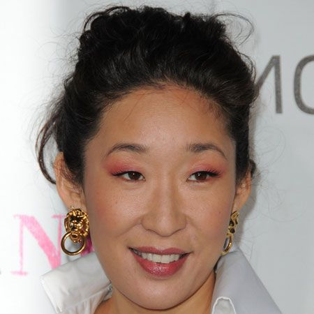Sandra has opted for volume on the top, which doesn't suit her face shape as well as it could. Keep volume at the side