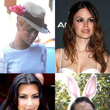 Click on to see the celebs posing for the paps this week...<br />