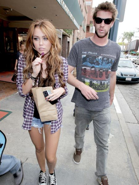 <p>Click on to see the celebs who got caught be the paps this week...<br /></p><p> </p><p><strong>Left:</strong> Miley Cyrus was showing off her pins (and rather cute actor boyfriend Liam Hemsworth) as she popped out for lunch in LA. With that lollipop, you'll ruin your appetite Miley! <br /></p>