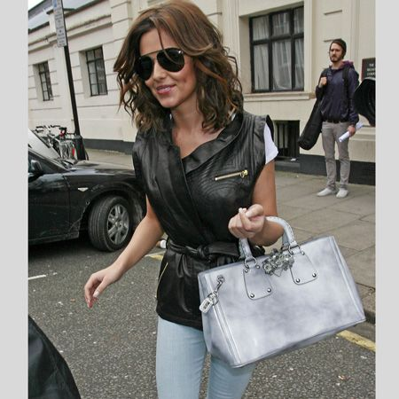<h3>The celebs have re-written the jean rules for spring. This season it's all about paler palettes, experimental patterns and doubling up your denim </h3><p>Left:<strong> Cheryl Cole's</strong> been showcasing her grungy side in a variety of different denim - from paint splash printed jeans to these super skinny bleached buys</p>