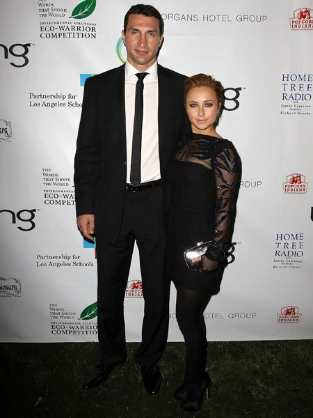 <p>Click on to see the celebs posing for the paps this week...</p><p> </p><p>Left:  <strong>Hayden Panitettere</strong><br /><br />The 'Heroes' actress has chopped off her shoulder length locks for a short, swept back 'do. Hayden debuted her crop at an 'Avatar' bash to celebrate the 40th Anniversary of Earth Day with boxer boyfriend Wladimir Klitschko...</p>