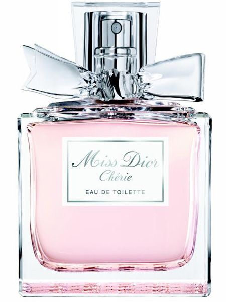 <p>A spritz of this fresh, floral fragrance will transport you to Paris in summertime - it's romantic, stylish and seductive.</p>  <p>Miss Dior Chérie Eau de Toilette, £48 / 50ml </p>