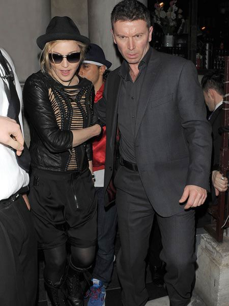 Click on to see what the celebs got up to this week...<br /><br /><br />Left: Madonna <br />The Queen of pop showed us how she keeps up with her toyboy lover Jesus Luz by leaving Aura in the small hours after a private performance inside the club...