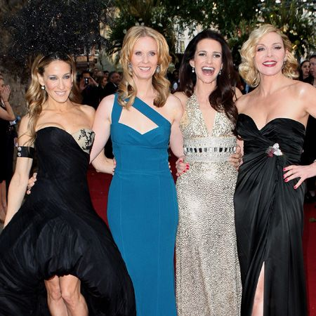 <h3>The girls sexed up London for the UK premiere in true, frocking fabulous form</h3>