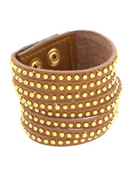 <p>You can never have enough arm candy and this studded Asos bangle is a bargain</p>