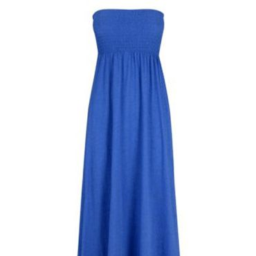 """<p>This electric blue maxi looks just like the one recently sported by Demi Moore on the red carpet&#x3B; add that to the low price and you have a winning combo!  </p><p> £12, <a target=""""_blank"""" href=""""http://www.peacocks.co.uk/product/index.jsp?productId=4063681&prodFindSrc=paramNav&awc=1828_1276594284_bc5bace90ec68e7eb5e2b35175675fe1"""">www.peacocks.co.uk</a></p>"""