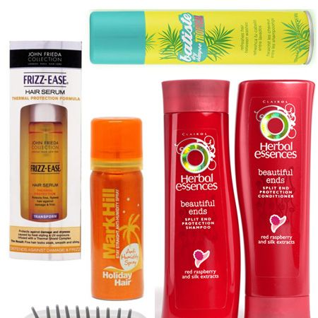 Sun sea and steamy nights can cause havoc to your hair. Make sure you have your summer style sorted with these hero products for protecting and perfecting hair