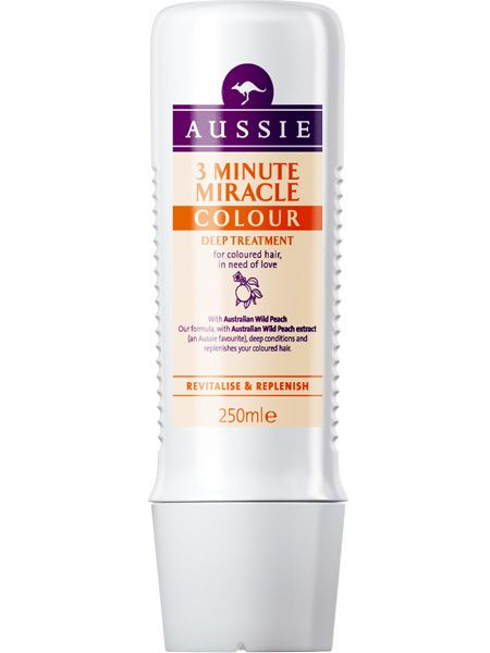<p>When your hair's as frazzled as you are treat it to some deep conditioning. 3 Minute Miracle from Aussie is one of the quickest and best and now there's a version specifically for coloured hair so your hue won't fade in the sun</p>  <p>Aussie Colour Mate 3 Minute Miracle, £4.49</p>