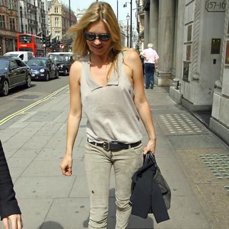 <p>Click on to see the celebs adoring and avoiding the paps this week...<br /></p><p> </p><p>LEFT: A very slender <strong>Kate Moss</strong> was papped shopping at friend and designer Stella McCartney's shop in central London and almost blended into the pavement!  <br /></p>