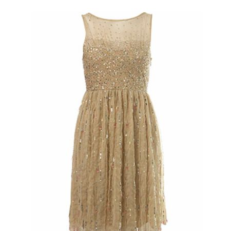 <p>Dazzle (quite literally!) in this gorgeous sequin dress. Enough of the LBD already, here comes the LGD.</p>