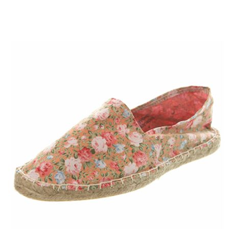 <p>Not enough time to get a pedicure this week? Ensure your feet stay cool in these floral espadrilles from Miss S.</p>