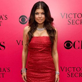 Fergie rocked a tight, bright jammy red gown at the Victoria's Secret Fashion Show last year... we love how she kept her accessories simple and let her chocolate locks do the talking!<br />