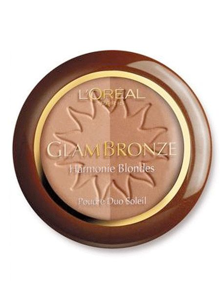 """<p> The L'Oreal Glam Bronze Duo Sun Powder Set has been designed specifically for sophisticated colour layering, which means that you can achieve your desired shade without straying too far from your natural tone. Brilliant!</p><p>£9.99, <a target=""""_blank"""" href=""""http://www.superdrug.com/Bronzer/LOreal-Real-Glam-Bronze-Powder-Due-Brune-102/invt/385883"""">www.superdrug.com</a></p>"""