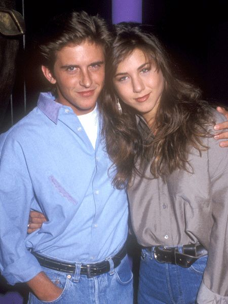 It's time to step back to 1990. Jennifer Aniston was a fresh faced actress just stepping onto the showbiz scene and Charlie Schlatter was her goofy co star in the short lived TV series of Ferris Bueller. It was a typical young romance; intense, passionate and brief