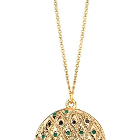 """<p>This peacock feather locket from the collection is similarly to die for. She's not called a style icon for nothing!</p><p>£105, <a target=""""_blank"""" href=""""http://www.3elevenboutique.com/buy.aspx/41106"""">www.3elevenboutique.com</a></p>"""